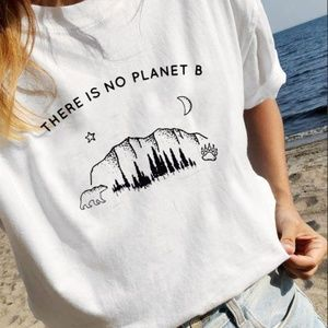 There is no Planet B Tee High Quality super SOFT